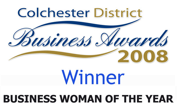 Colchester District Business Awards Business Woman of the Year 2008