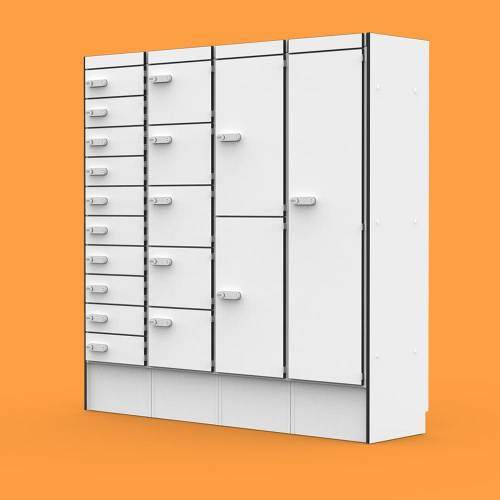 Flexible Personal Storage & Charging Lockers