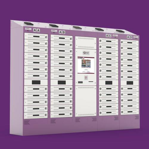 Self-Service Laptop Loan Charging Lockers